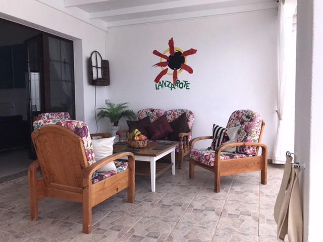 Patio - Casa blanca, Playa Blanca, Lanzarote