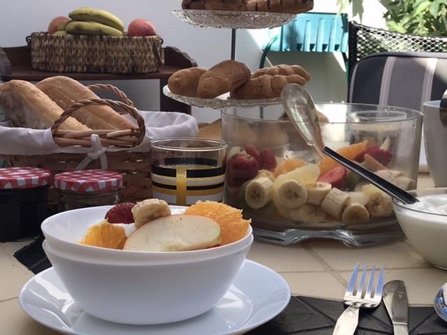 Breakfast in the ATRIM  - Casa blanca, Playa Blanca, Lanzarote