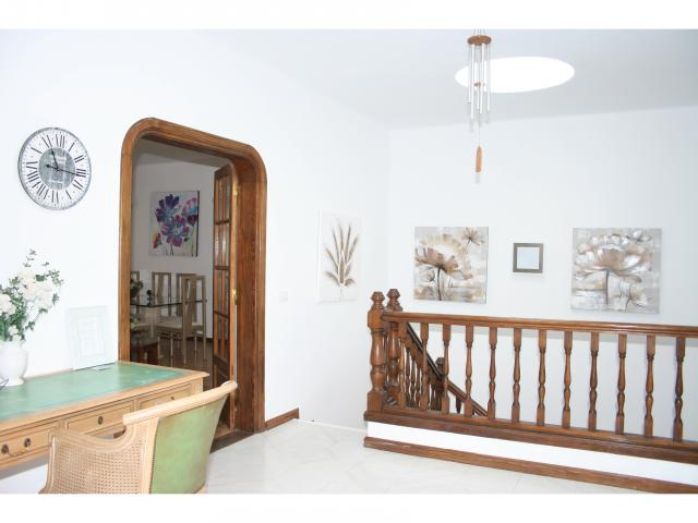 Entrance hall with writing desk! - Big 5 bed villa, Playa Blanca, Lanzarote
