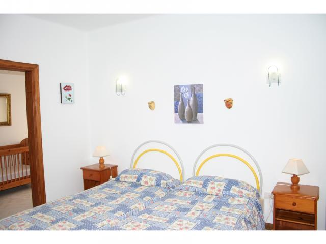 Twin bedroom + cot room! - Big 5 bed villa, Playa Blanca, Lanzarote