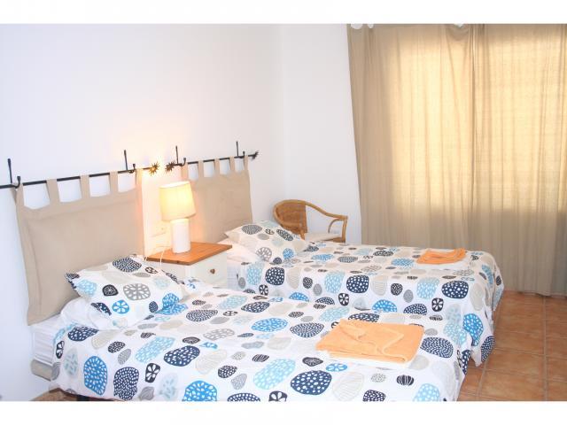 Twin bedroom! - 3 bed villa Los Coloradas, Playa Blanca, Lanzarote
