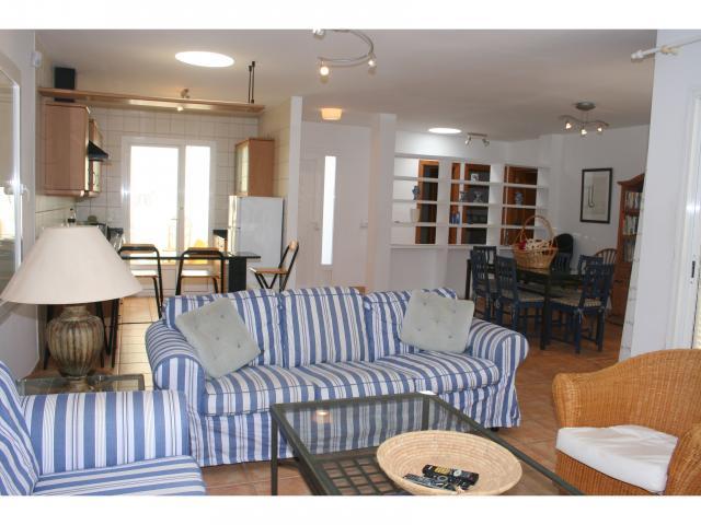 Lounge with doors to Pool! - 3 bed villa Los Coloradas, Playa Blanca, Lanzarote