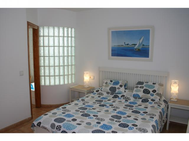 1.50 double bed with en-suite! - 3 bed villa Los Coloradas, Playa Blanca, Lanzarote
