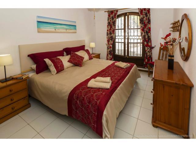 The double bedroom - Villa Charlotte, Playa Blanca, Lanzarote