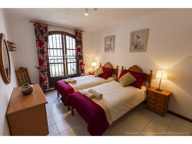The twin bedroom - Villa Charlotte, Playa Blanca, Lanzarote