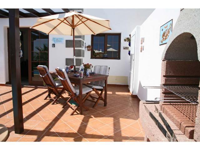 BBQ Area - Casa Arabella, Playa Blanca, Lanzarote